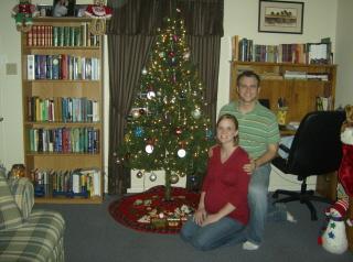 Billy and Kim Christmas Decor '08